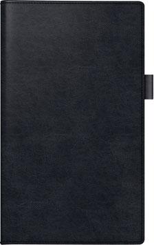 Modell 746 8,7x15,3cm Soft-Einband Schwarz - Brunnen Taschenkalender 2022