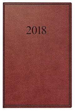 Industrie I 7,2x11,2cm Kunstleder-Einband Prestige Braun Modell 11054 - Rido Taschekalender 2021