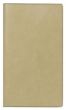 Tm 12 8,7x15,3cm Kunstleder-Einband Hellbraun Modell 40325 - Rido Taschenkalender 2021
