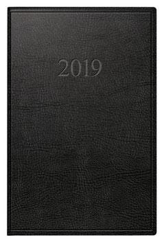 Industrie I 7,2x11,2cm Kunstleder-Einband Prestige Schwarz Modell 11054 - Rido Taschenkalender 2020