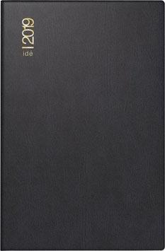 Industrie II 7,2x11,2cm Kunststoff-Einband Schwarz Modell 16212 - Rido Taschenkalender 2021