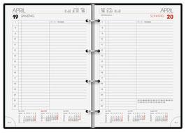 Modell 765 14,3x20,2cm Kalender-Einlage - Brunnen Buchkalender 2021