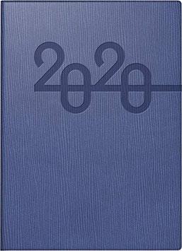 Studioplan int. 16,8x24cm Kunstleder-Einband Prestige Blau Modell 23016 - Rido Buchkalender 2021