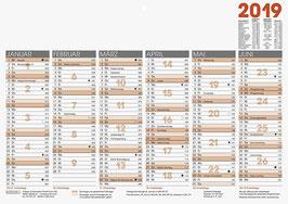 Tafelkalender A3 quer Modell 70130 - Brunnen Tischkalender 2021 (10 Stück)