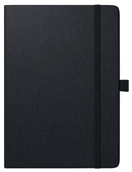 Modell 764 Kompagnon 14,3x20,2cm Baladek-Einband Schwarz - Brunnen Buchkalender 2022
