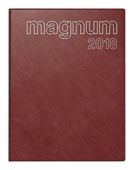 Magnum 18,3x24cm Schaumfolien-Einband Bordeaux Modell 27042 - Rido Buchkalender 2021