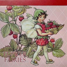 FF-135    Memo Pad Square「The Strawberry Fairy」