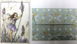 Mini Greeting Card FF-017 Lavender