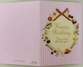LEAFGC 50-229 「Happy Birthday リボン スウィーツ」