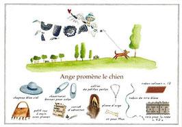 ANPC「犬とお散歩」*45-AN8