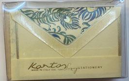01-1406 Peacock   封筒&カードセットBOX