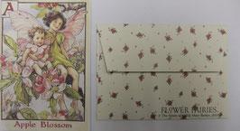 Mini Greeting Card FF-015 Apple Blossom