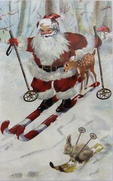 X'masC GCX739「Santa Skiing」
