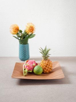 Obstschale und Dekorationsschale aus Holz