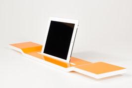 WOOD U? WAVE - Acrylglas orange