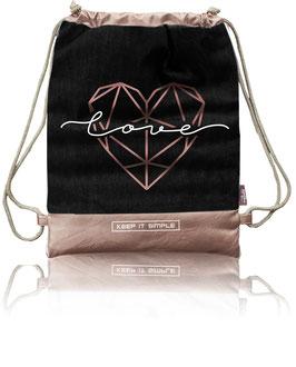 Nappy-Bag LOVE (Black)
