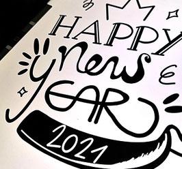 Plotterdatei NEW YEAR