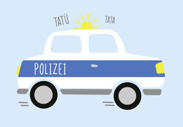 Plotterdatei POLIZEIAUTO