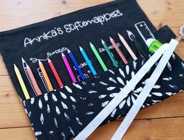 Stifte-Mapperl BLACK & WHITE