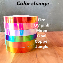 Color changing tape