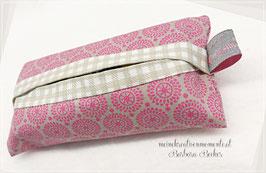 Taschentücherhülle aus Stoff