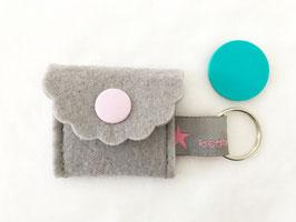 Schlüsselanhänger mit Einkaufswagen Chip