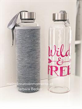 Wasserflasche Wild & Free