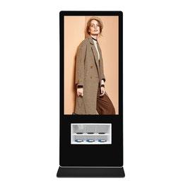 55 Zoll Infoterminal mit integrierten Ladepads (wireless) für Mobiltelefone, Windows PC (Win 10 Beta vorinstalliert)