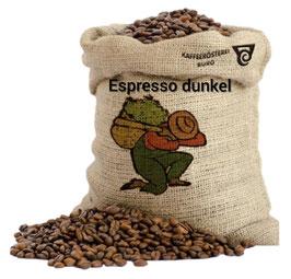Kaffee Espresso Dunkel