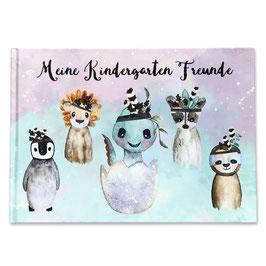 Kindergarten Freundebuch für Jungs