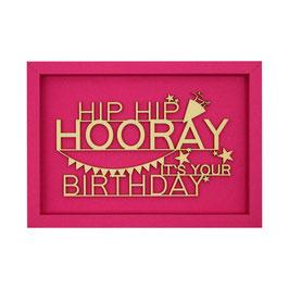 HIP HIP HOORAY IT`S YOUR BIRTHDAY