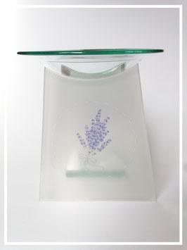 Duftlampe Glas (2teilig)Lavendelstrauß