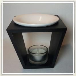 Duftlampe Holz (2teilig)