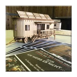 Mini-Soulwagon 3D Sperrholz Bausatz