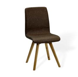 """Calm""    Designerstuhl der Extraklasse. 100% Echtleder und bestes Massivholz"