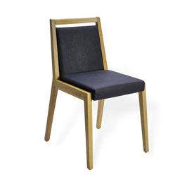 """Enjoy"" | Designerstuhl der Extraklasse. 100% Echtleder und bestes Massivholz"