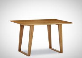 """""""Tender"""". Traumhaft schöner Kufentisch aus Wildeiche. Neue Kollektion"""