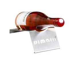 Weinflaschenhalter Edelstahl - 1er