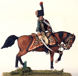 NAP C-112 Chasseur Officer, on mount