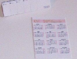 EF034 Kalender Set 2-teilig