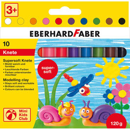 EF099 EBERHARD FABER Knete Mini Kids Club farbsortiert 120,0 g