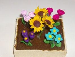 "EF1801 Gartenmodul 9 ""Blumenbeet"" 7 x 6 cm"