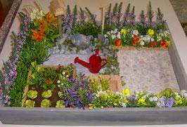 """EF1801 """"Mein kleiner Garten"""" 35x25x5cm"""