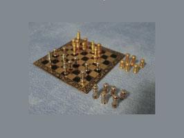 EF035 GK Schachbrett mit Figuren