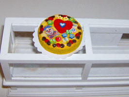 EF047 Torte, Kindertorte Clown