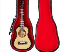 EF067 GK Gitarre hell 10cmL mit Koffer