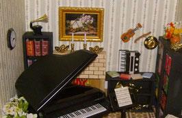 EF016 Musikzimmer 30 x 30 x 20 cm