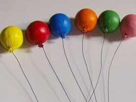 EF045 Luftballon, bunt sortiert 3cm Preis pro Stück!