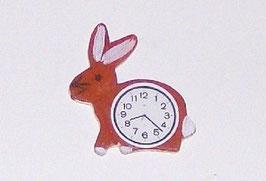 EF039 Uhr, Küchenuhr Hase