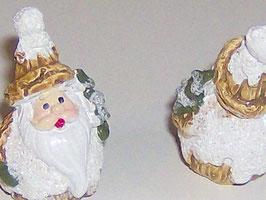 EF082 Süßer Weihnachtsmann 1 STÜCK 4cm